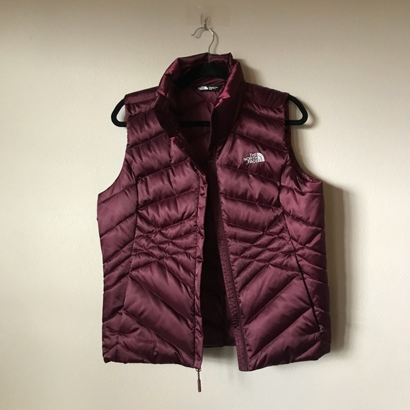 34602d8d1957 The North Face Maroon Puffy Down Vest - Med - NWOT.  M 5be0b180c61777926d6f9f7f